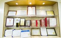 汉中谭医生整形资质和荣誉证书