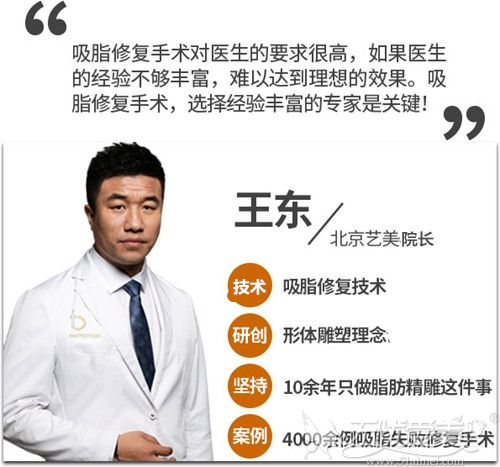 北京艺美王东院长