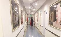 临沂伊维美整形医院走廊