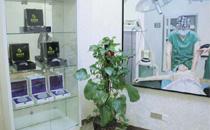 上海韩啸医疗美容整形隆胸假体展示区