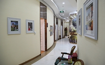沈阳杏林整形医院面诊室走廊