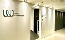 韩国原辰整形医院走廊一角