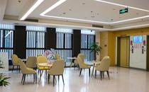 重庆北部宽仁医院休息区
