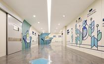 重庆北部宽仁医院走廊