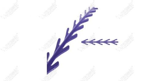 鱼骨线本身独有的线材设计