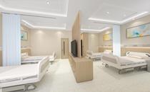 上海江城皮肤病医院病房