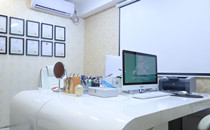 上海新生植发面诊室